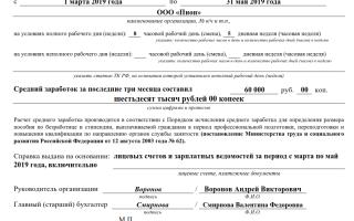 Справка для Центра занятости: скачать бланк и образец, правила оформления