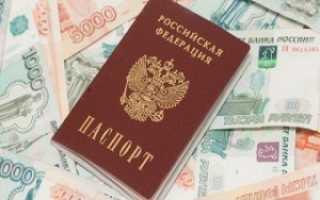 Замена паспорта в 20 лет: документы, размер госпошлины, сроки