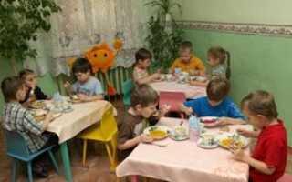 Организация питания в детском саду: используемые нормы и режимы приема пищи